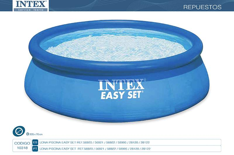 10318-LONA PISCINA EASY SET 305X76CM