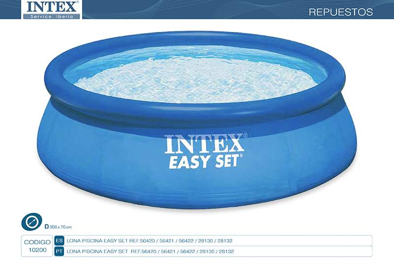 10200-LONA PISCINA EASY SET 366X76CM