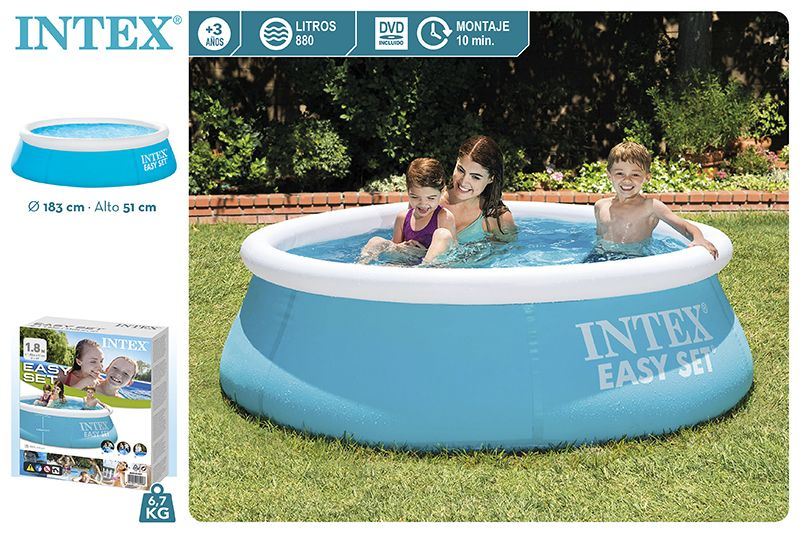 28101-PISCINA EASY SET 183X51CM-880L
