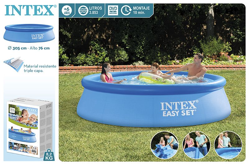 28120-PISCINA EASY SET 305X76CM 3853L S/BOMBA